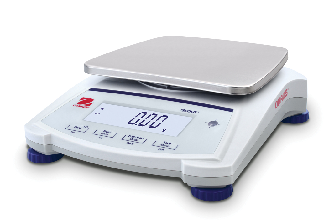 Ohaus Scout Jewellery SJX1502 1500g x 0.01g Portable Balance With Internal Calibration
